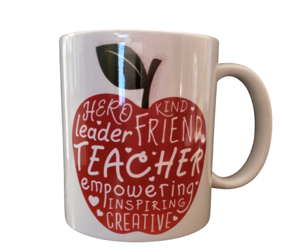 Teacher Appreciation Ceramic Mug