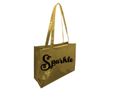 Sparkle Metallic Tote Bag
