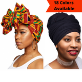 "Extra Long 70"" Lightweight Breathable Head Wraps"