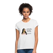Load image into Gallery viewer, Women's Relaxed Fit T-Shirt Psalms 121:1 - white