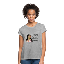 Load image into Gallery viewer, Women's Relaxed Fit T-Shirt Psalms 121:1 - heather gray