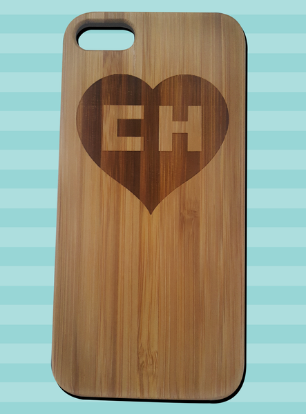 iPhone 5c wood case - Chapulín Colorado
