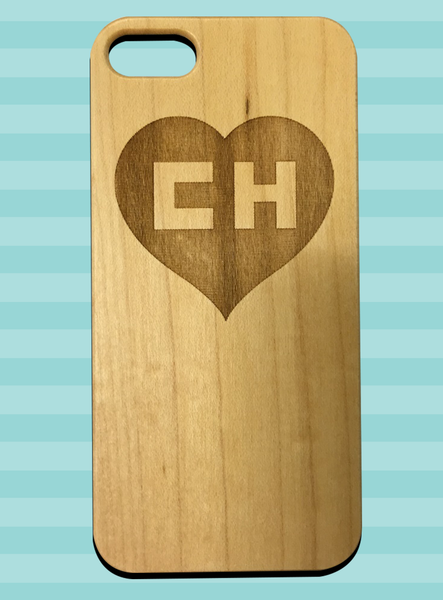 iPhone 4/4s wood case - Chapulín Colorado