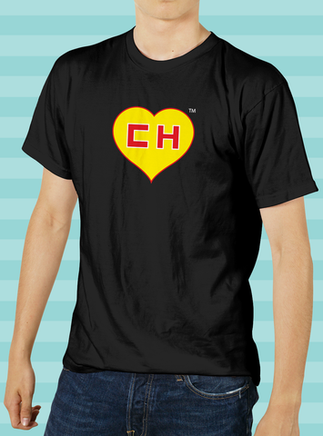 El Chapulin Colorado Heart T-Shirt