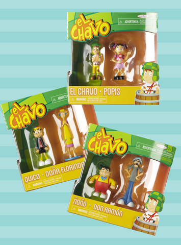 Complete Figure Collection (El Chavo, Quico, Popis, Don Ramon, Ñoño & Doña Florinda)