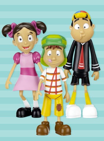 El Chavo Collectible Figures - Complete Collection