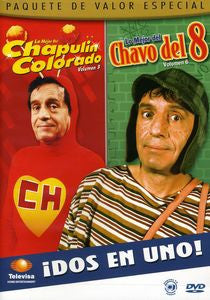 DVD Chavo del Ocho vol 6 & Chapulin Colorado vol 3