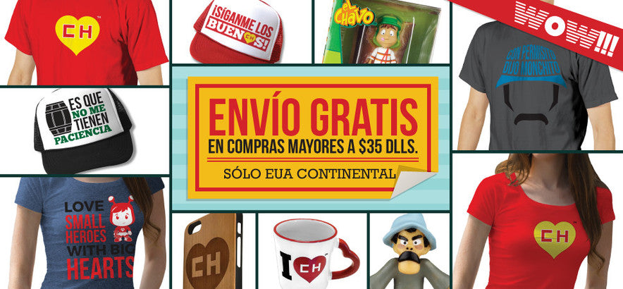 El Chavo Store free shipping