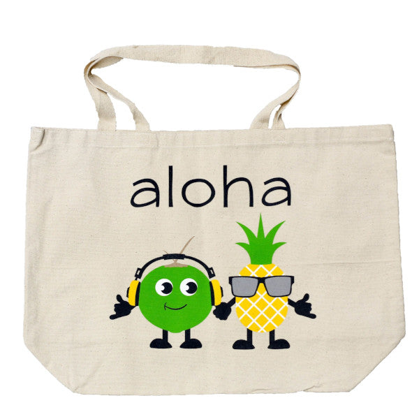 coco + piña beach bag
