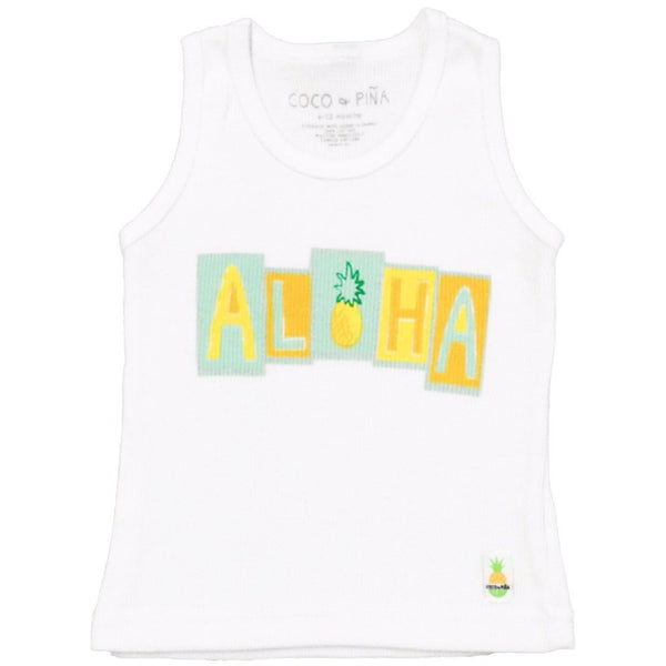 aloha blocks tank (ribbed)