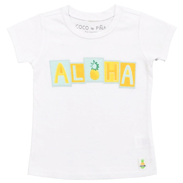 aloha blocks t-shirt