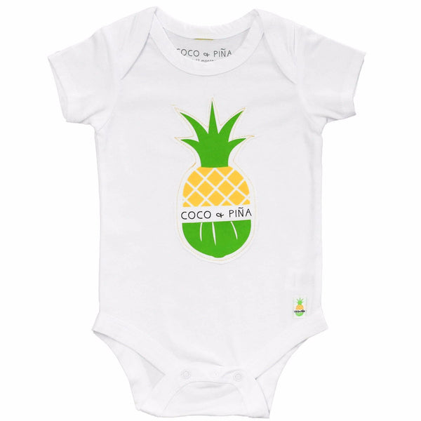 logo patch onesie