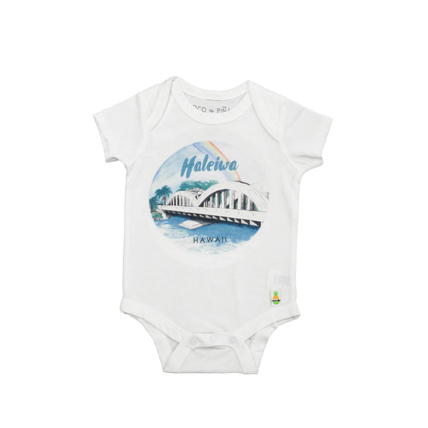 haleiwa bridge onesies