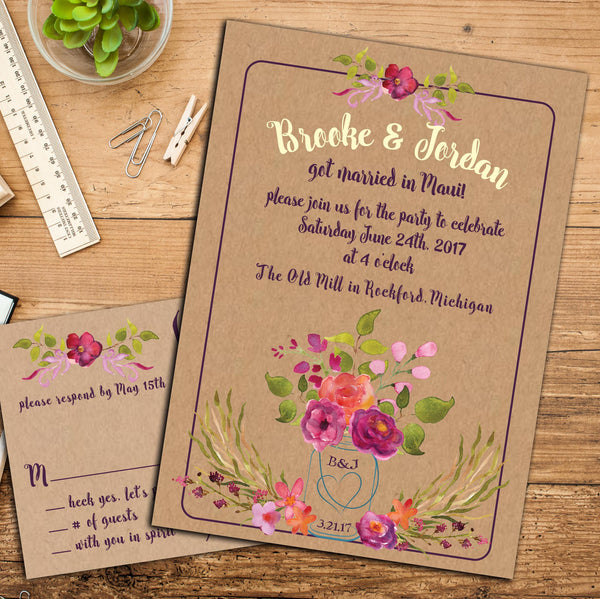 Wedding and Event Invitations, Save the Dates