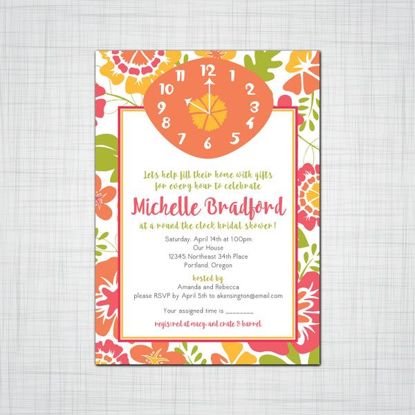 Bridal Shower - Pink Lily Press