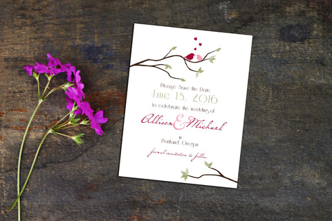 Wedding Invitations - Pink Lily Press
