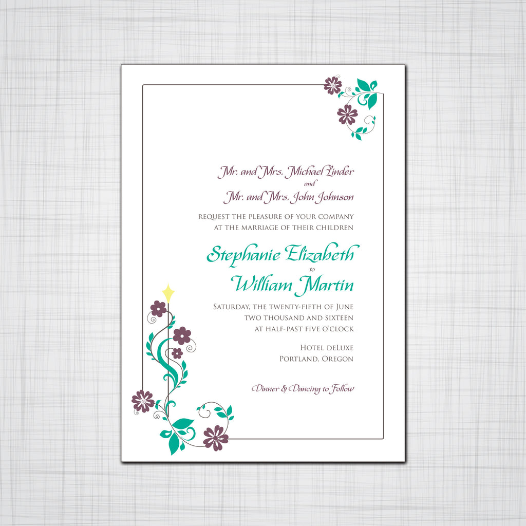 Wedding Invittaions - Pink Lily Press