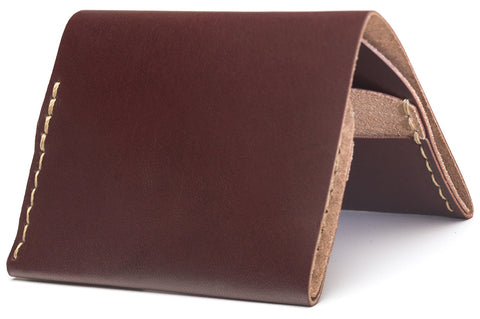 No. 4 Wallet in Burgundy