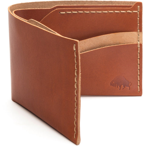 No. 6 Wallet in Cognac