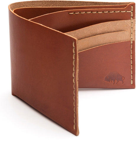 No. 8 Wallet in Cognac