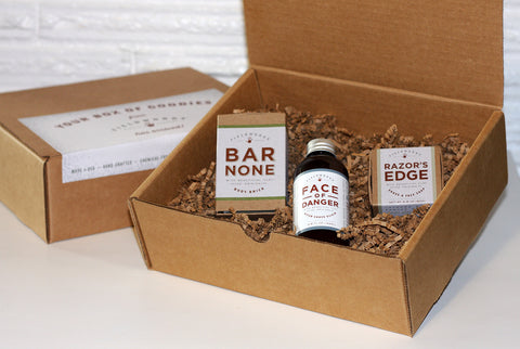 About-Face! Shave and Wash Gift Set
