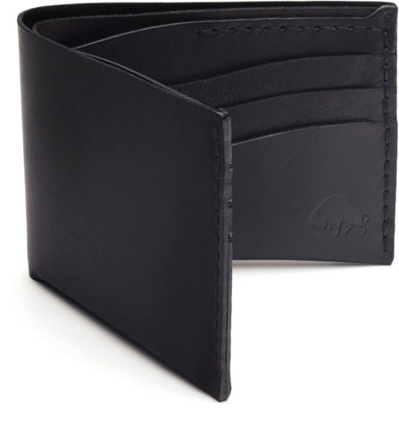 No. 8 Wallet in Jet