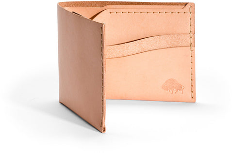 No. 6 Wallet in Natural