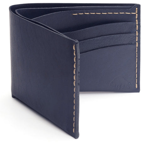 No. 8 Wallet in Navy