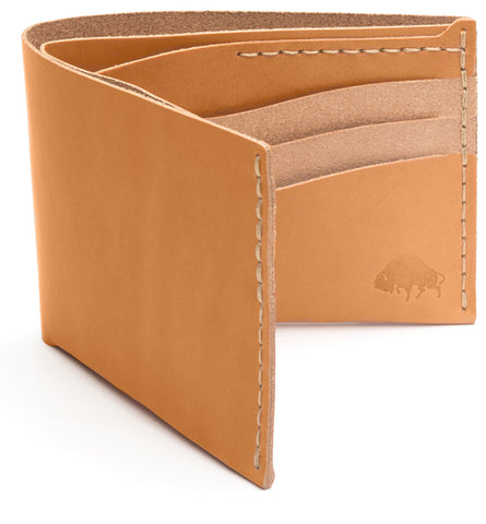 No. 8 Wallet in Golden Tan