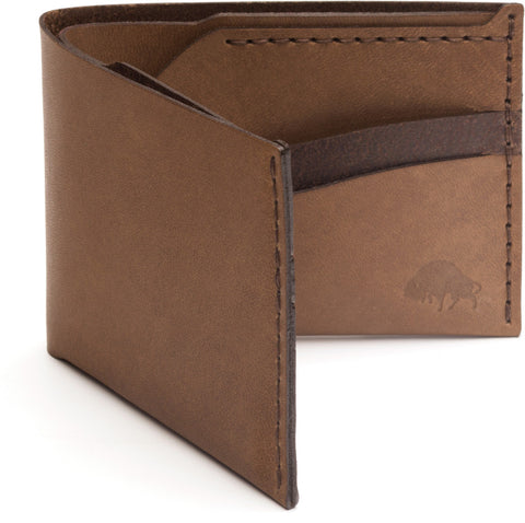 No. 6 Wallet in Whiskey