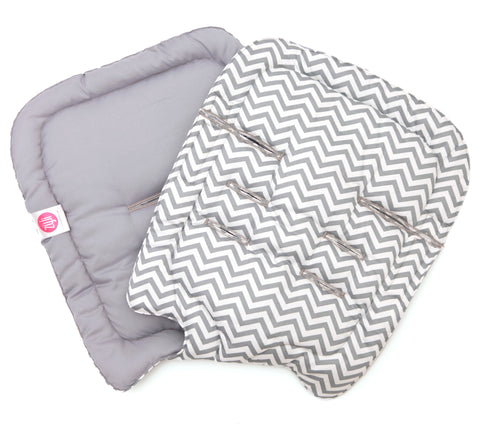 Mini Chevron Gray