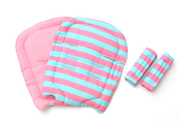 Stripes Pink Blue