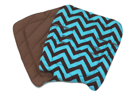 Chevron Blue-Brown