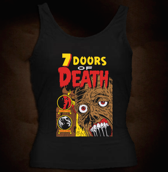 Official Grindhouse Line: 7 Doors Of Death - Girl Tank