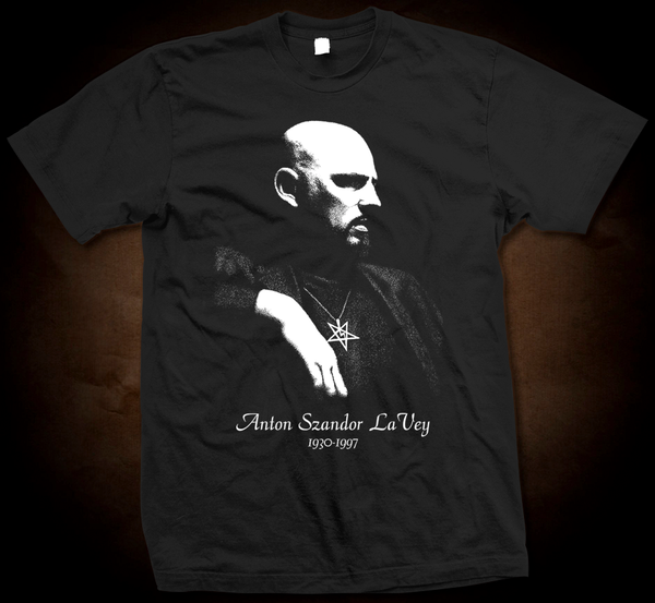 Official Anton Lavey - Gildan Soft 4.5 Ounce T-Shirt