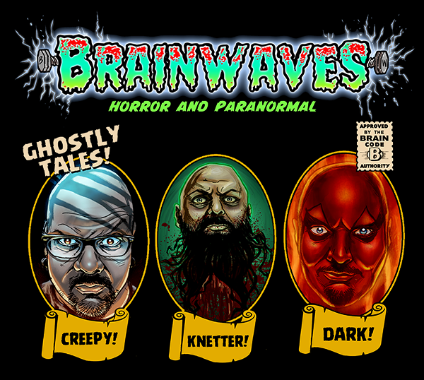 Brainwaves Horror And Paranormal - Gildan Soft 4.5 Ounce T-Shirt