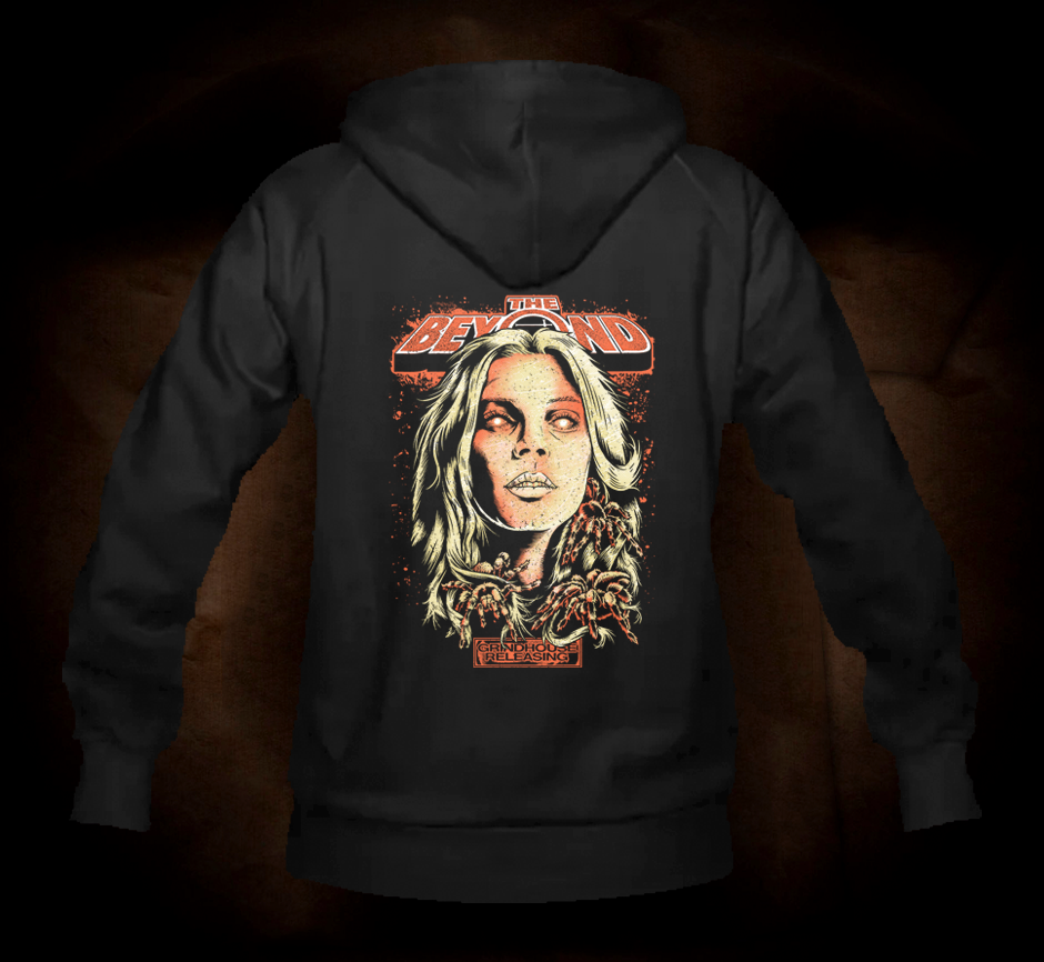Official Grindhouse Line: The Beyond Official Design A - Hooded Sweatshirt