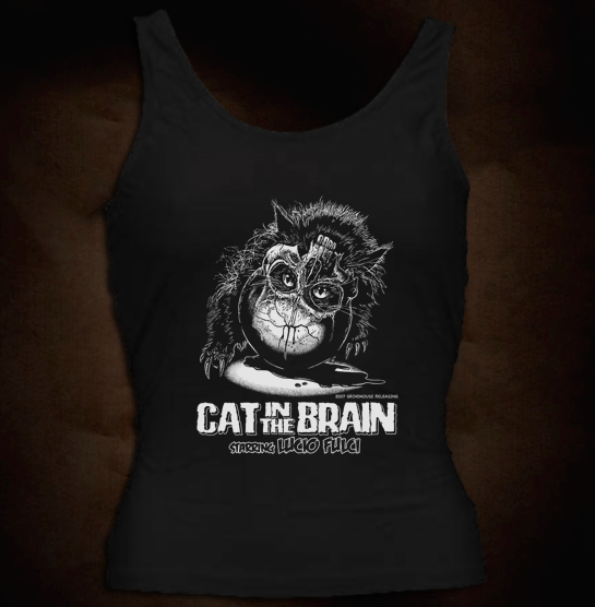 Official Grindhouse Line: Cat In The Brain Classic - Girl Tank