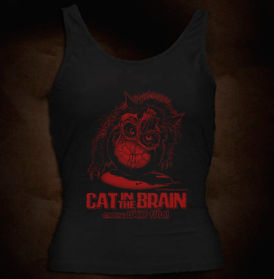 Official Grindhouse Line: Cat In The Brain - Girl Tank
