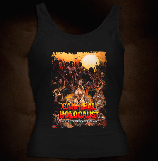 Official Grindhouse Line: Cannibal Holocaust - Design A - Girl Tank