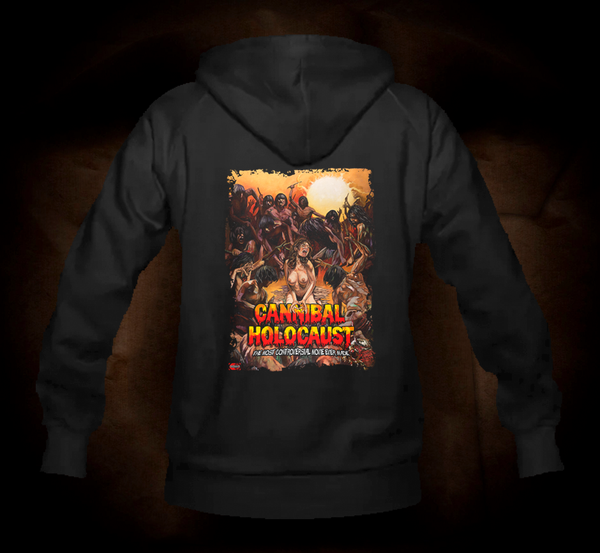 Official Grindhouse Line: Cannibal Holocaust - Design A - Hooded Sweatshirt