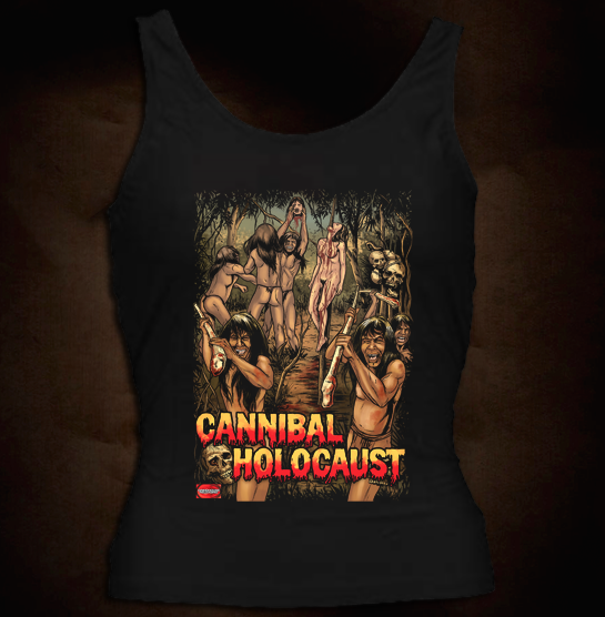 Official Grindhouse Line: Cannibal Holocaust B - Girl Tank