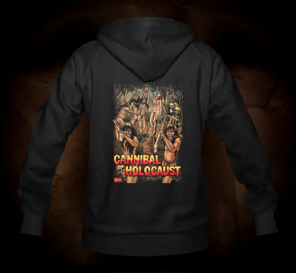 Official Grindhouse Line: Cannibal Holocaust B - Hooded Sweatshirt