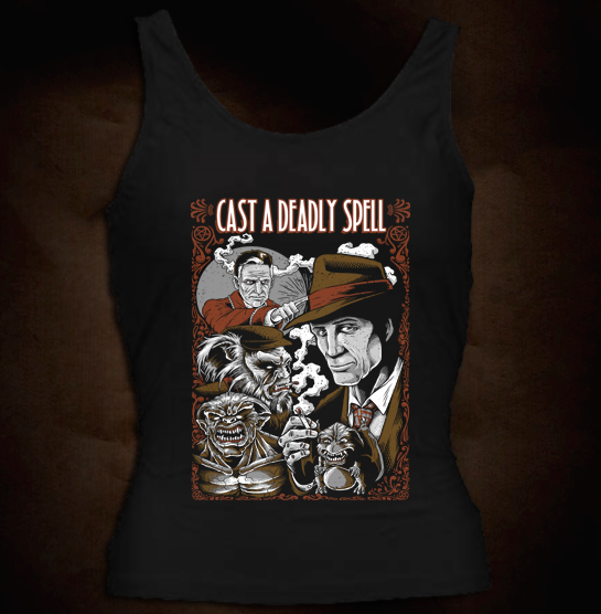 Cast A Deadly Spell - Girl Tank