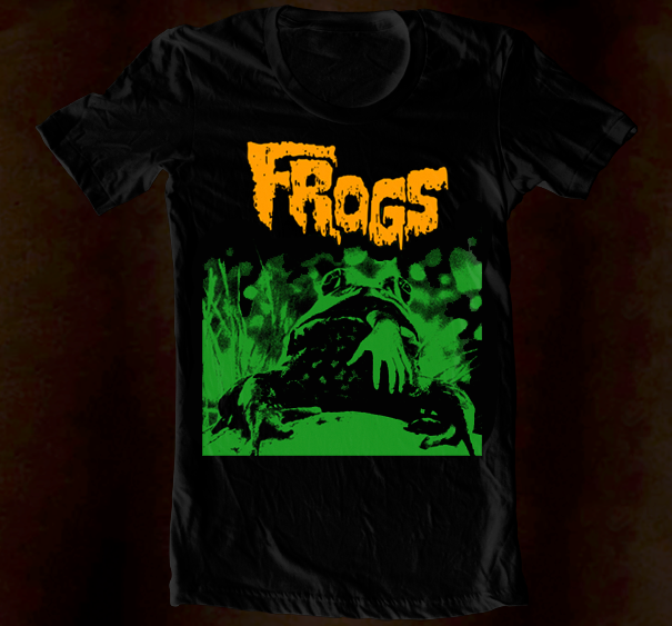 Hand Screened - Frogs