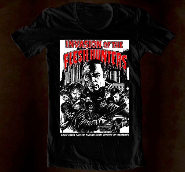 Hand Screened - Invasion Of The Flesh Hunters