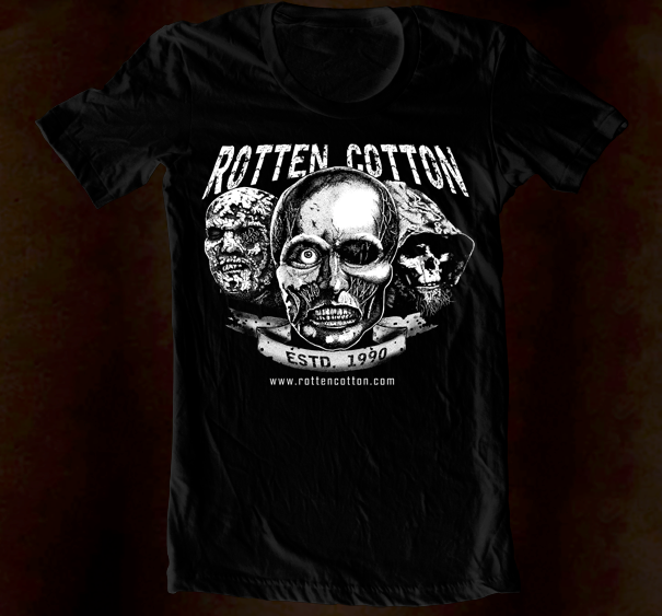 Hand Screened - Rotten Cotton Logo 4