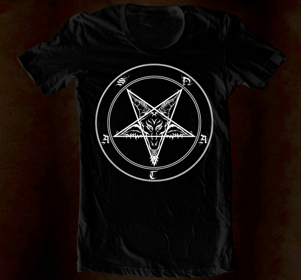 Hand Screened - Rotten Pentagram