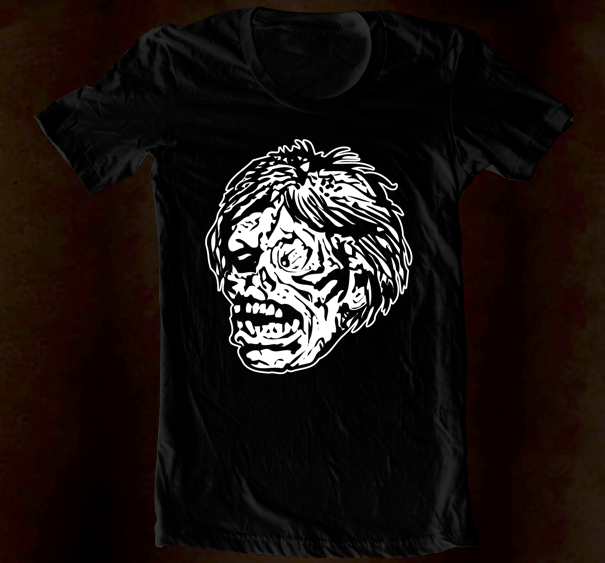 Hand Screened - Zombie Monster