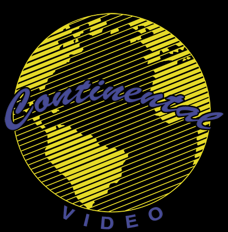 Continental Video Logo - Gildan Thick 6 oz T-Shirt